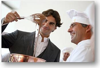 Roger Federer embajador del chocolate de Lindt
