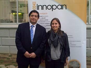 El Sr. José María Fernández Secretario General de Ceopan y Sra. Anna Morralla, Head of Food Service de Feré & Consulting Group.
