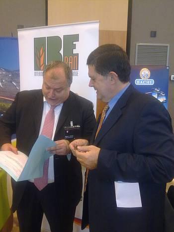 Sr. Miguel Ángel Guillanes, Director de Lord Sándwiches y ponente de Sanwich Forum (izda) junto a Sr. Mario Cañizal, Asesor de Food Service y colaborador oficial de Ferré & Consulting Group