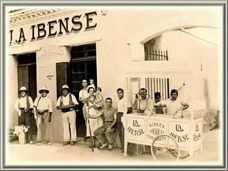 La Ibense 1933 en Argelia