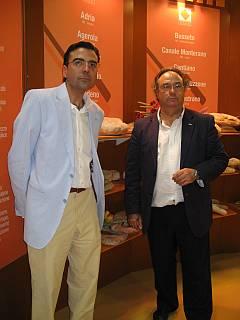 Izquierda. Sr. Pinilla, Director Comercial de Ferré & Consulting Group, Derecha, Sr. Ferré, Director General de Ferré & Consulting Group