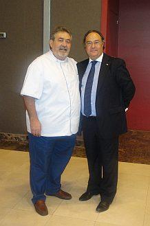 Sr. Javier Urbano (Técnico Demostrador del Grupo Europastry) y Sr. José R. Ferré (Director General de Ferré & Consulting Group).
