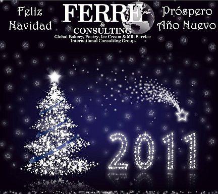 Feliz Navidad y Próspero Año Nuevo 2011