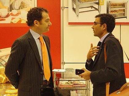 Doctor Zanolli junto a Don Diego Pinilla de Ferré & Consulting Group
