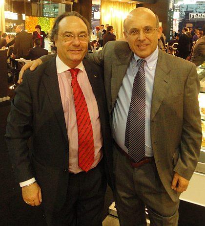Don José R. Ferré Presidente de Ferré & Consulting Group junto a Don Michelle Petrillo ingeniero agroalimentario