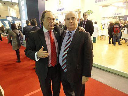 Don José R. Ferré Presidente de Ferré & Consulting Group junto a Don Ángel Cespedosa Director y Gerente de Maquipán