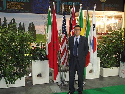 Don Diego Pinilla presente en el Campionato Mondiale de Pasticceria (Pastry World Cup)