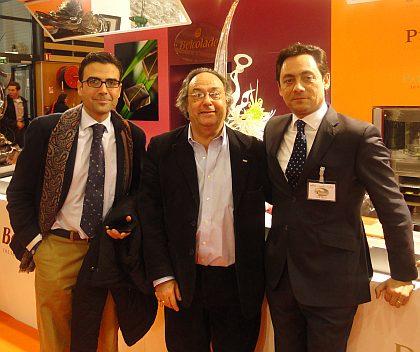 Don Diego Pinilla y Don José R. Ferré de Ferré & Consulting Group a la derecha el Presidente y Director General del Grupo Puratos Francia Don Enric Valls