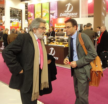 Don Ferruccio Perinni consultor de Ferré & Consulting Group para Italia junto a Don Diego Pinilla Director Comercial de Ferré & Consulting Group