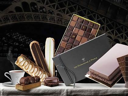 Bodegón de delicias de chocolate de Un Dimanche à Paris