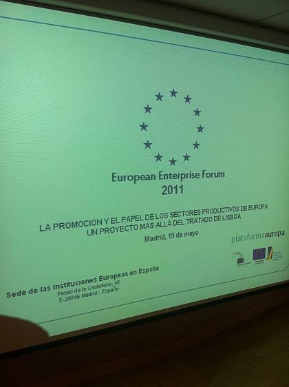 European Enterprise Forum 2011-06-10