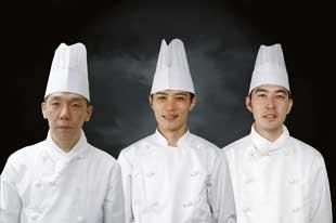 Japón de izquierda a derecha, Yasuo Hatanaka, Sasaki Takuya, Yuki Nagata
