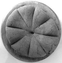 Pan encontrado de la época romana