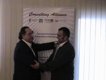 El Sr. J.R. Ferré , CEO de Ferré & Consulting Group  y el Sr. Metin Y. Özgün Associated Consultant (Turquía) de Ferré & Consulting Group.