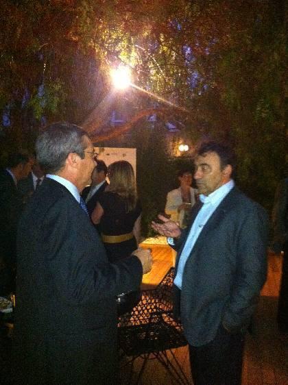 A la izquierda el Sr. Xavier Llavina Director Técnico I+D+i de Grupo Bimbo España junto al Sr. Julio Ramírez Director Técnico Comercial de Ferré Consulting Group