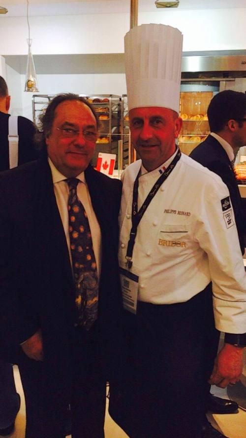 Sr. José R. Ferré Presidente de Ferré & Consulting Group con Sr. Phelippe Nesnard de Bridor