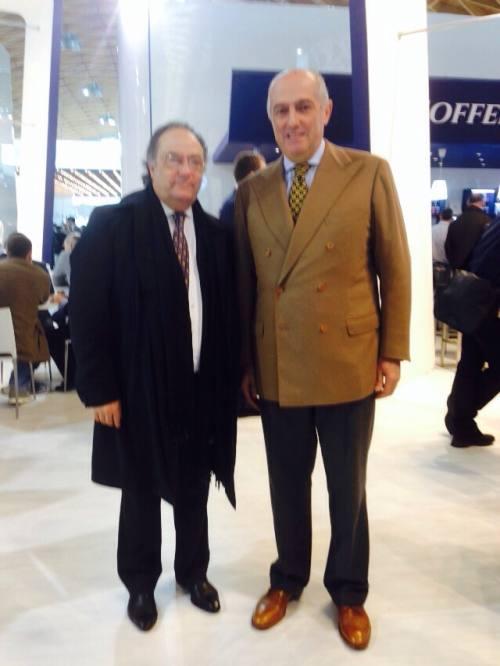 Sr. José R. Ferré Presidente de Ferré & Consulting Group junto al Sr. Umberto Fabbri