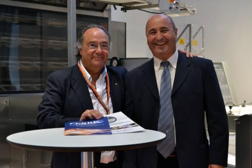 El Sr. J.R. Ferré, CEO de Ferré & Consulting Group (Consulting Alliance Holding) junto al Sr. José Jiménez Román, agente de zona para Cataluña de la compañía SVEBA-DAHLEN
