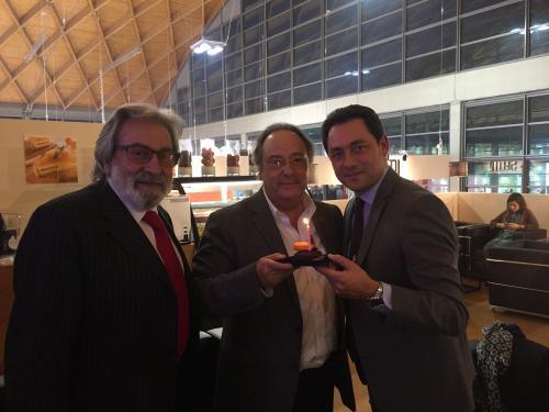 """Dr. Ferruccio Perini - Italy, Dr. Ferré de Holding Group """"FERRÉ & CONSULTING EUROPA & USA"""" y el Sr. Enric Valls - Presidente y Director General de Francia,Italia y Grecia - PURATOS"""