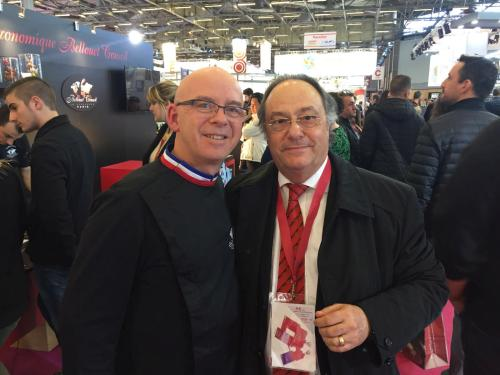 "Dr. Ferré de Holding Group ""FERRÉ & CONSULTING EUROPA & USA"" junto al Chef Jean-Michel Perruchon (Escuela Bellouet - France)"