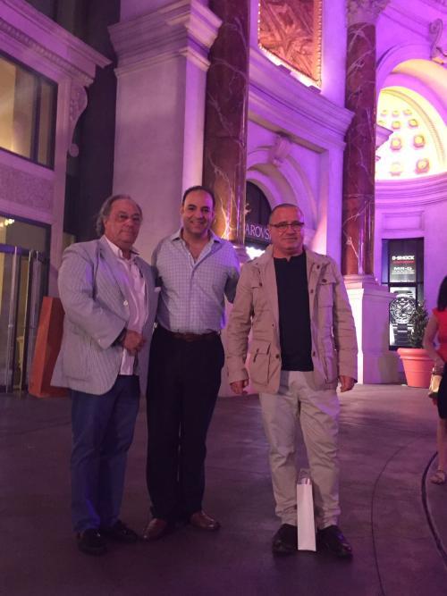 Don José Ramón Ferré (Presidente- CEO) de FERRÉ CONSULTING & ASSOCIATES ENG. USA/EUROPE junto con Eduardo Berlanga de México y Don Nereo Urbano Director Genera de ATP, España