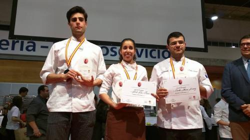 Ganadores I Concurso Nacional de Estudiantes de Pastelería