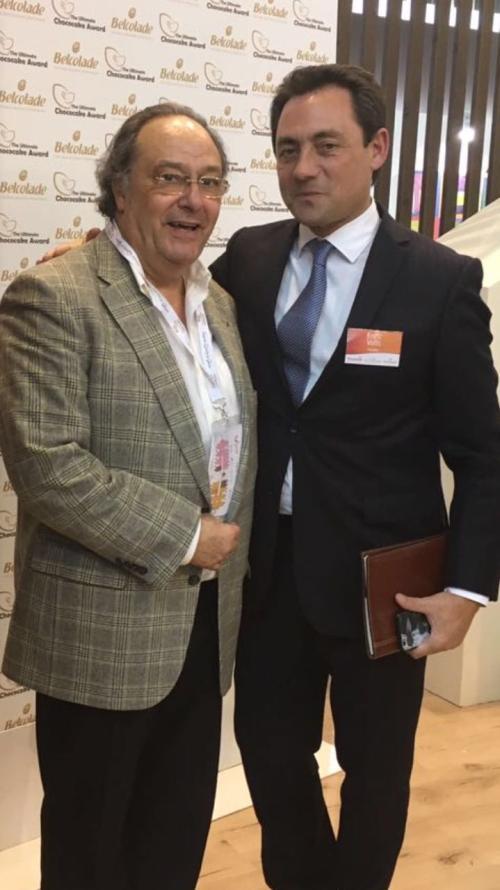 """Dr. Ferré de Holding Group """"FERRÉ & CONSULTING EUROPA & USA"""" junto al Sr. Enric Valls – Presidente y Director General de Puratos en Francia,Italia y Grecia"""