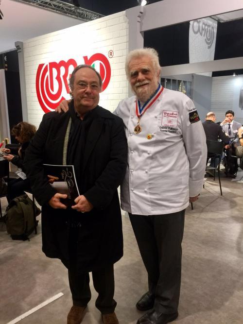 Sr. José Ramón Ferré (Presidente- CEO) de FERRÉ CONSULTING & ASSOCIATES ENG. USA/EUROPE junto al Maestro Gabriel Paillasson Presidente y Fundador de la Copa del Mundo de Pastelería
