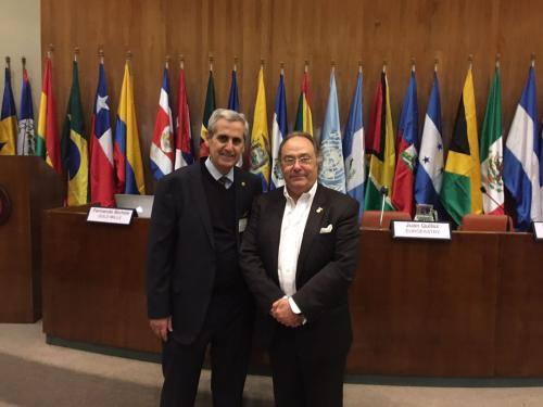 Sr. Ricardo Alessandri (ex. Director General de Latino América del Grupo Puratos) junto al Sr. José R. Ferré (CEO Ferré & Consulting Holding Group / USA & UE)