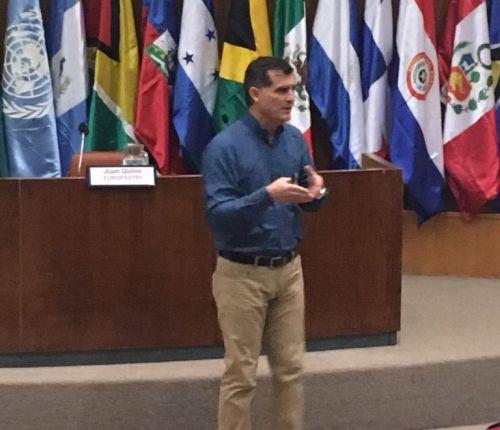 Sr. Fernando Bichón (Gerente Senior de Producción en Gold Mills de Panamá)