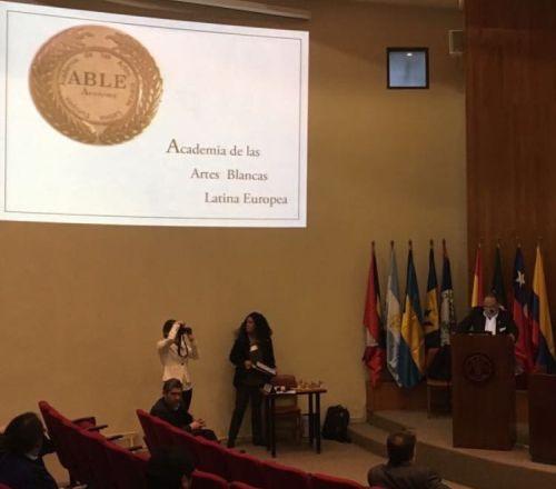 presentación de la Academia de las Artes Blancas Latina Europea – ABLE