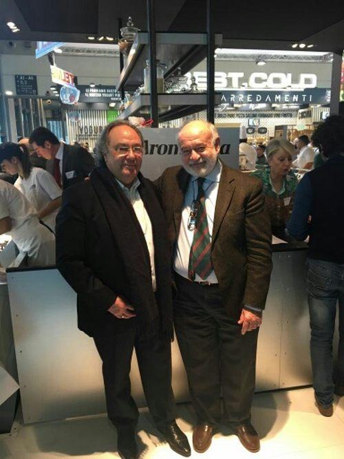 José Ramon Ferré Fort - CEO de Ferré & Consulting Holding Group , Cristiano Ferrero  CEO Aromitalia