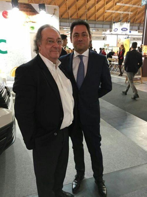 José Ramon Ferré Fort - CEO de Ferré & Consulting Holding Group,  Enric Valls -Président Directeur Général Puratos