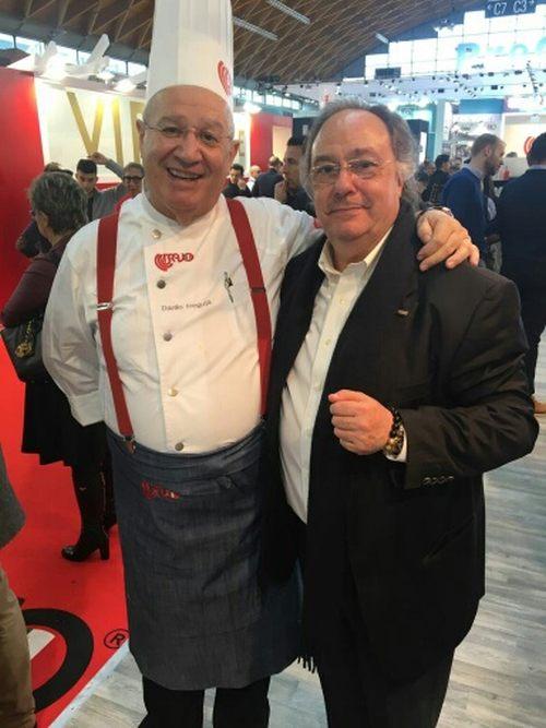 José Ramon Ferré Fort - CEO de Ferré & Consulting Holding Group, Danilo Freguja - Maestro profesor de pastelería y panadería Bravo Spa