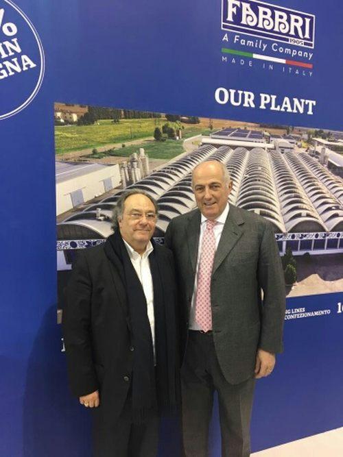 José Ramon Ferré Fort - CEO de Ferré & Consulting Holding Group, Umberto Fabbri - Propietario de Fabbri  Spa