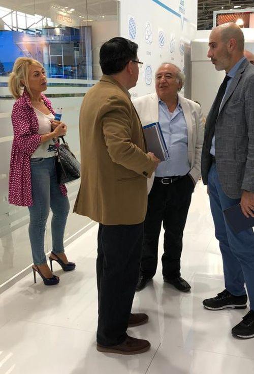 Sra. Belén Cigarrán - FERRÉ CONSULTING HOLDING GROUP, Sr. Freddy Otero, Sr.Carlos Ramírez, Sr. Andrea Agosti