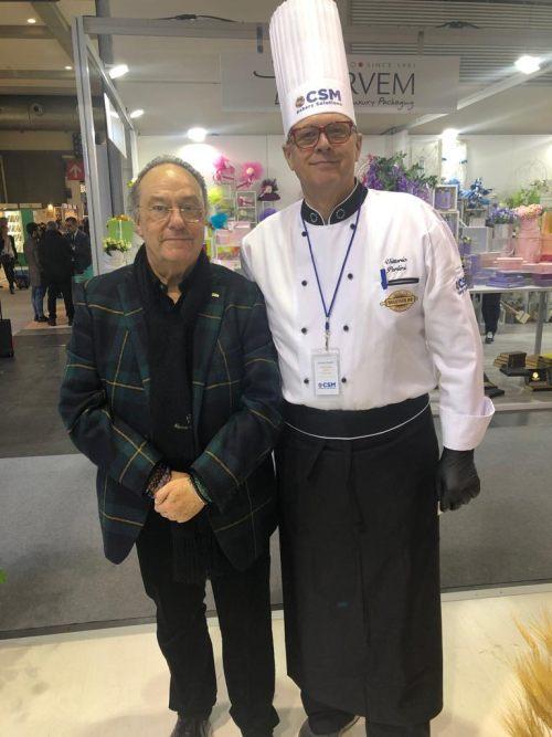 Sr. Ferré y Sr. Vittorio Perlini de CSM