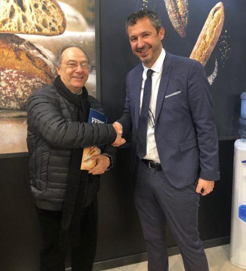 Sr. Ferré y Sr. Mattieu Le Provost Vadillo de Bridor
