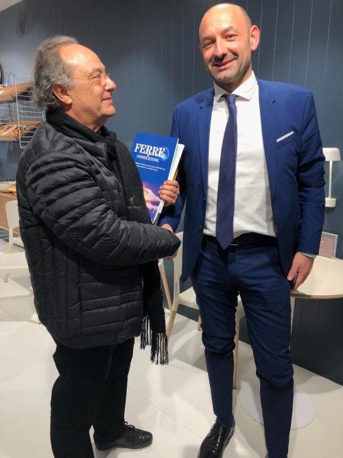 Sr. Ferré y Sr. Bertran Laffont de Europastry