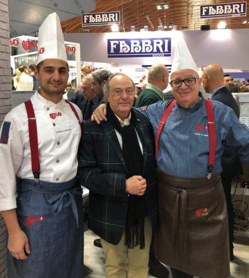 Sr. Francesco Battaglia , Sr. Ferré y Sr. Danielo Freguja