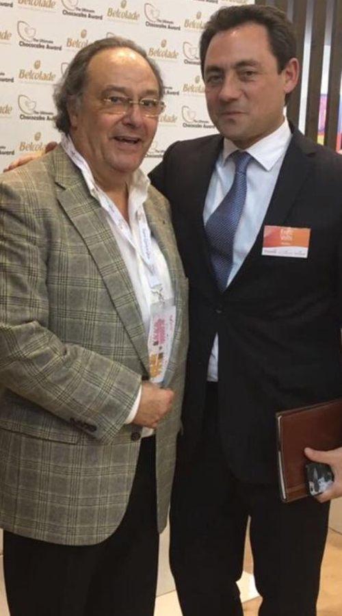 Sr. Ferré y Sr. Enric Valls de Puratos