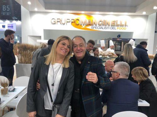 Sr. Ferré y Sra. Elisabetta Mancinelli