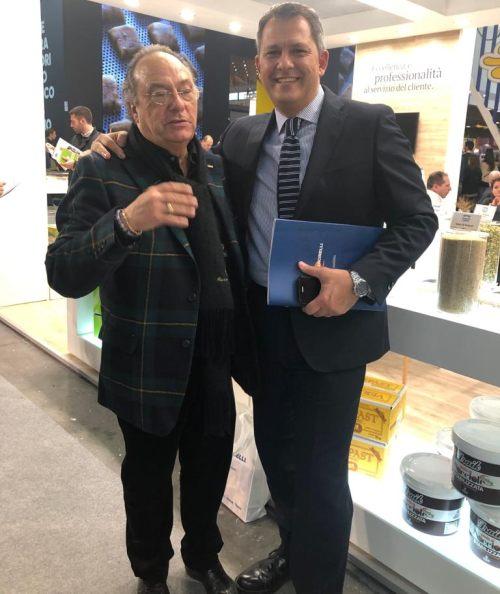 Sr. Ferré y Sr. Giorgio Asta