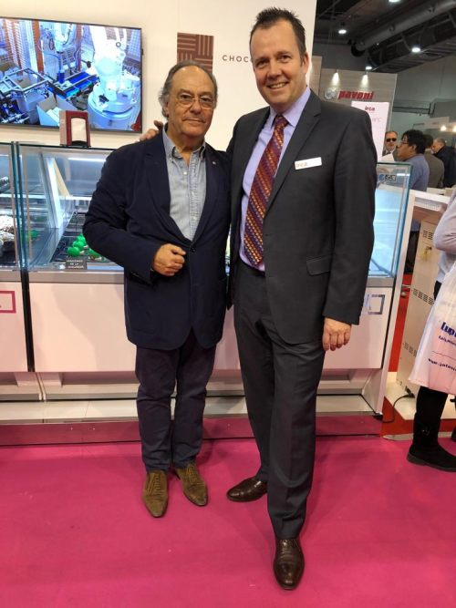 Sr. Francesco Morgino - IRCA y Sr. José R. Ferré - FERRÉ & CONSULTING