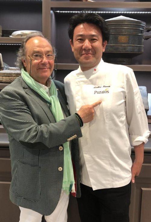 D. José R. Ferré – CEO de FERRÉ CONSULTING Holding Group, con D. Atsuhiro Hanada , Supervisor- Bakey – Technical Sale en Puratos – Japón.