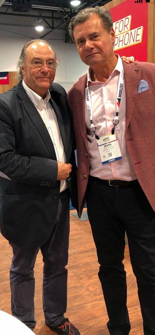 Sr. José Ramon Ferré Fort – CEO de Ferré & Consulting Holding Group junto al Sr. Mark M. Salman - Group President - The Middleby Corporation- Group President