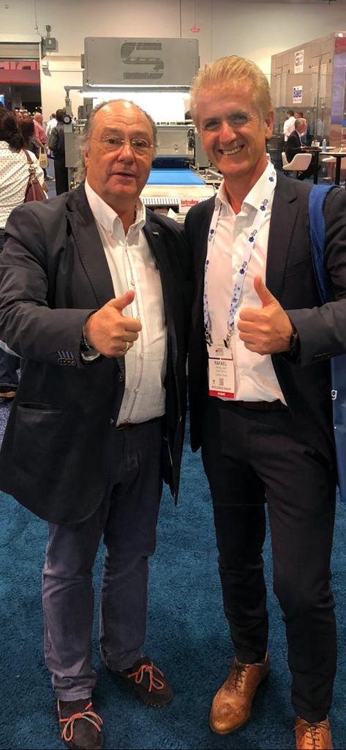 Sr. José Ramon Ferré Fort – CEO de Ferré & Consulting Holding Group con el Sr. Rafael Juan Fernández -Consejero Delegado- Grupo Dulcesol
